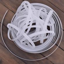"50Yds Polyester Plastic Through High Density Boning For Nursing Cover Lingerie Acessories Wedding Dress Bustle 5/16""(8mm) Width"