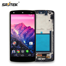Srjtek pantalla para LG Google Nexus 5 D820 D821 Pantalla LCD con Pantalla Táctil Digitalizador Asamblea Frame 100{b66f97c74c1839b1a09f75b76f8ff94b4be89402a59f3f6af297773abde5ad92} Probado