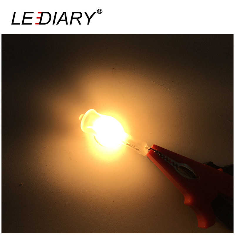 LEDIARY 10PCS Frosted Halogen G9 Dimmable Bulb 220V-240V Lamp 20W/40/60W Glass Halogen Light G9 2700K Warm White For Chandeliers
