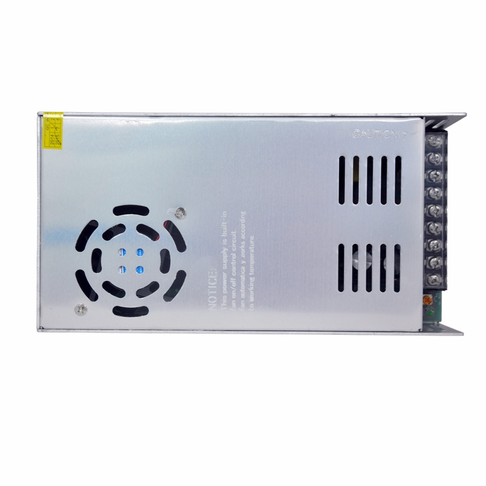 Delgado 500 W metal interruptor fuente de alimentación AC a DC 48 V 10.4A controlador de voltaje constante