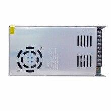Тонкий 500 Вт металлический переключатель Питание Ac к Dc 48 В в 10.4A постоянное напряжение драйвер
