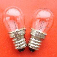 miniature Lamp Bulb 2.5v 0.3a E10s FreeShipping A577  sellwell lighting factory