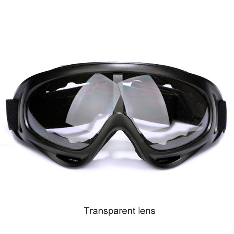 Hot New Windproof Outdoor Bike Cycling PC Lens large Frame Glasses Skiing Eyewear Snowboarding Protective Goggles Free shipping!