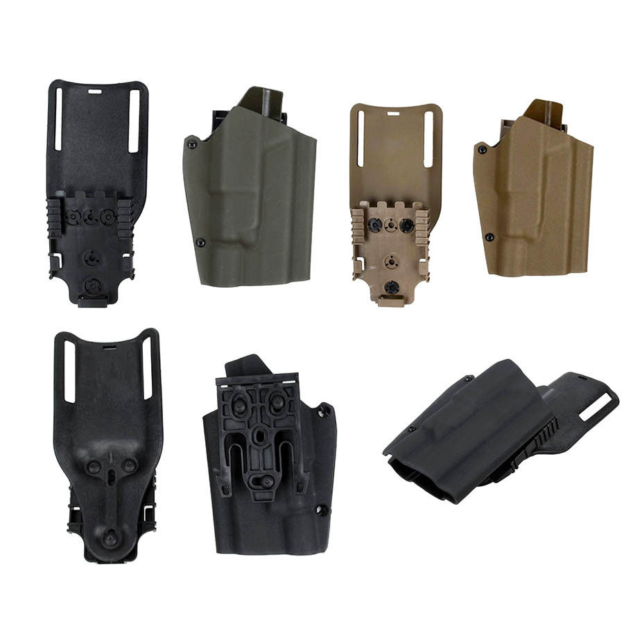 Tactical Airsoft TMC TMC X300 Light-Compatible Belt Holster Drop Adapter Quick Release Set for GBB Glock Free Shipping tmc field shirt
