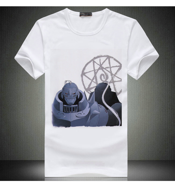 FullMetal Alchemist White Tees Shirt