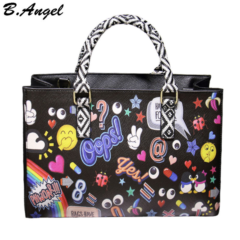 Bag-and-wallet-for-1-set-high-quality-special-carton-pattern-printing-woman-messenger-bag-women.jpg_50x50