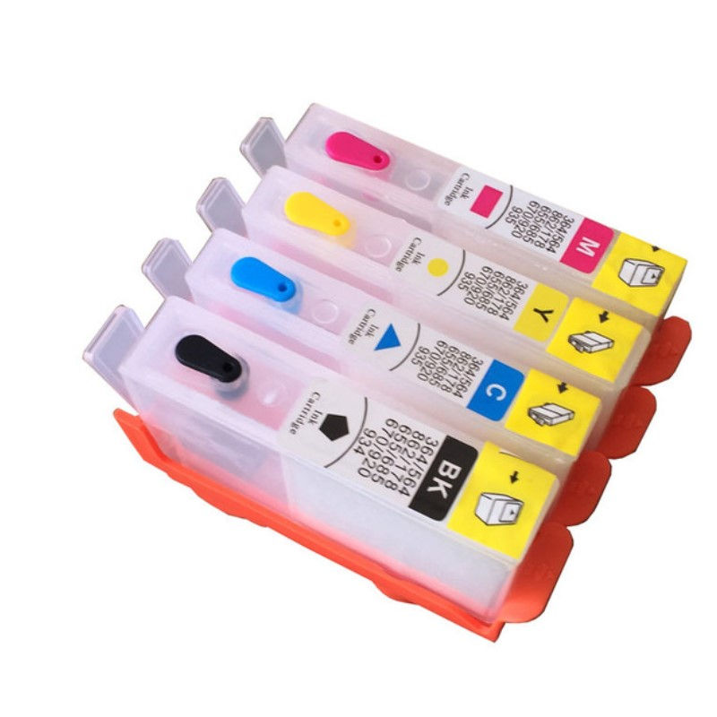 INK WAY 30 sets for HP905 <font><b>903</b></font> 904 <font><b>refillable</b></font> ink cartridge for <font><b>HP</b></font> OfficeJet 6950 6956 OfficeJet Pro 6960 6970 for HP904 W/O chip image