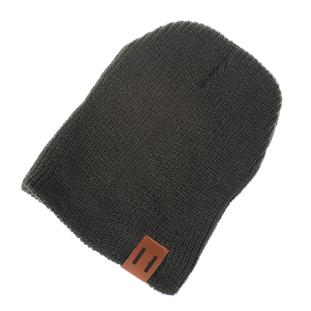 Mode Mom & Me Frauen Damen Einfarbig Knited Kopfbedeckungen Beanie Schwanz Hut Kappe Winter Warme Heiße Verkäufe Hut In Frauen Zubehör Reinigen Der MundhöHle.
