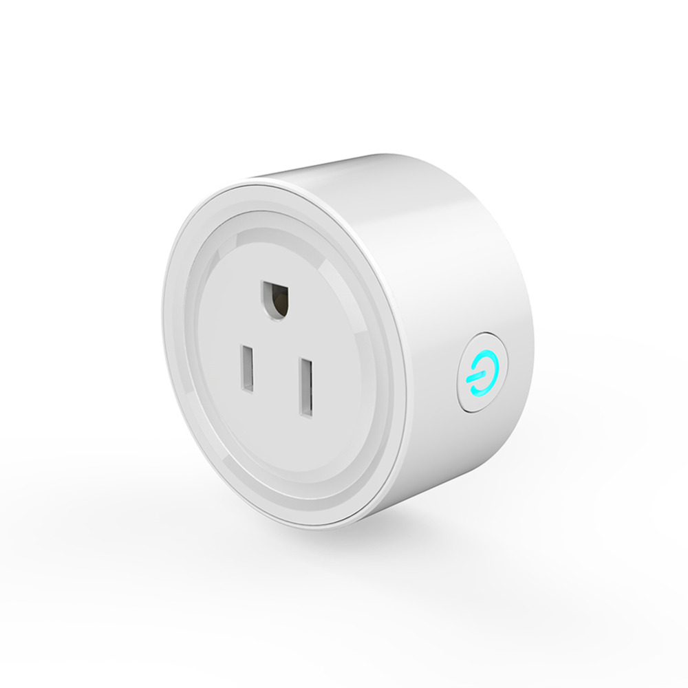 Smart Plug Wi-Fi Wireless Socket Outlet For Alexa and Google Home & IFTTT, No Hub Required, Remote Control Your Devices Anywhere