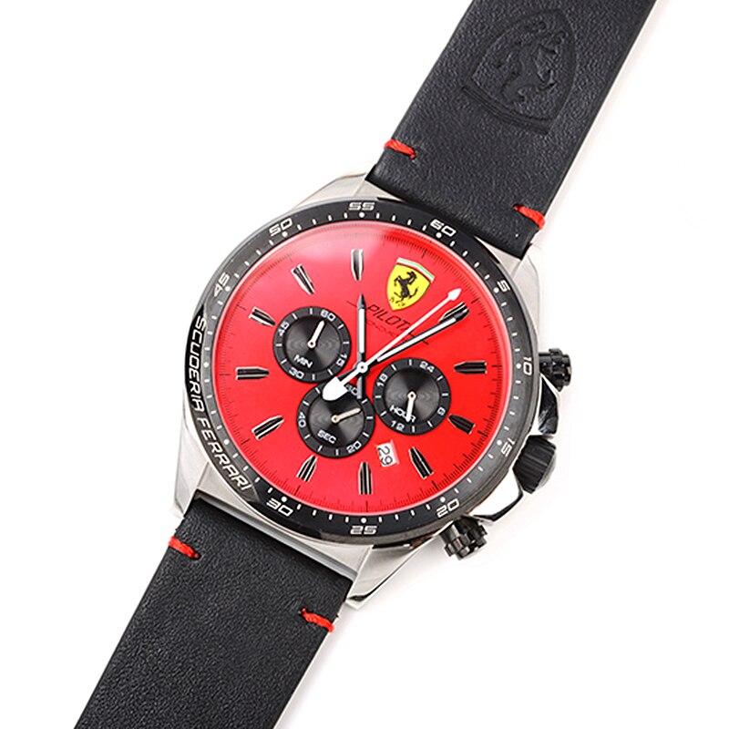 SCUDERIA FERRARI Brands 2018 New Fashion Watch Red Dial Men