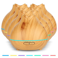 Essential 400ML Oil Diffuser Air Humidifier Aroma Lamp Aromatherapy Electric Ultrasonic Aroma Diffuser Mist Maker Free