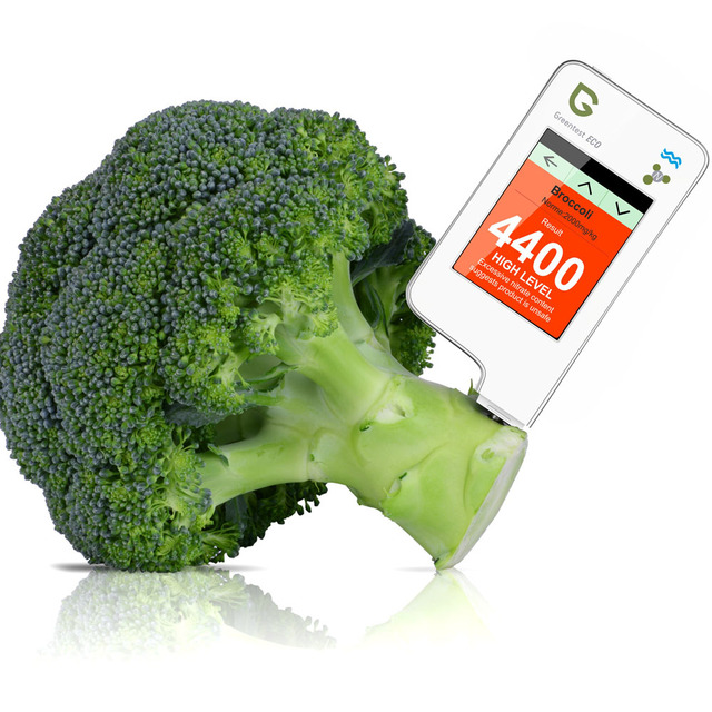 Greentest ECO-5F 3 in 1 Radiation + Water Hardness + Nitrate Tester Test Dietary Nitrates in Food Fruits/Vegetables/Meats/Fishes