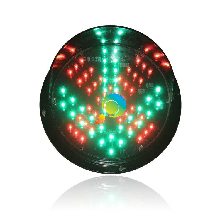 DC12V High Brightness Epistar LED Red Cross Green Arrow Signa Light LED Traffic Light Module For Promotion