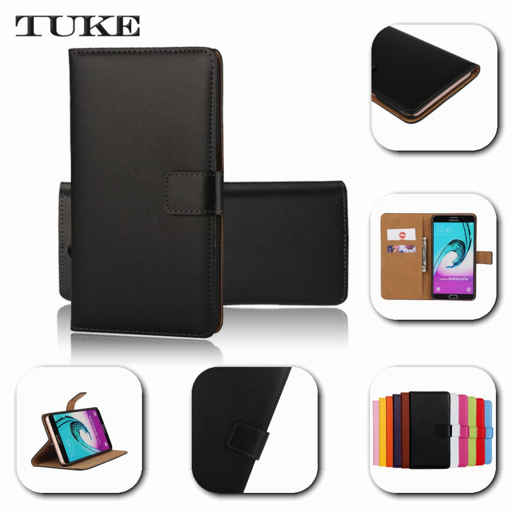 new style ee333 4d93d TUKE For Nokia Lumia 730 Case,Stand Cover Wallet Genuine Leather Case For  Nokia Lumia 730 735 N730 cover+free Gift SJ0776-in Wallet Cases from ...