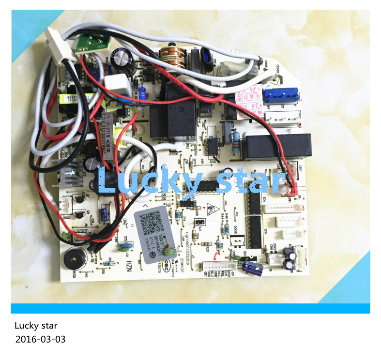 95% new for Haier Air conditioning computer board circuit board 0010403511 good working 95% new for haier air conditioning computer board circuit board kvr 32n b520a 0010450745ae good working