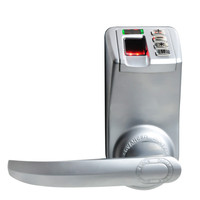 Biometric Electronic Door Lock Fingerprint, Code, Mechanical Key Access Control Adel 788 Trinity Password Keyless Lock