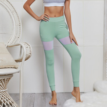 цены на Women Sweatpants Mesh Patchwork Compression Pants with Pocket Leggings Running Tights Jogging Fitness Athletic Pant Activwear в интернет-магазинах