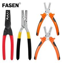 цена на PZ0.25-2.5 PZ1.5-6 PZ0.5-16 PZ10-35 MINI-TYPE Crimping Plier terminals crimping pliers electric tools tube terminal crimper kit