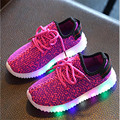 Led Luminous Shoes For Boys Girls Fashion Light Up Kids Shoes Led Schoen In Girls Sneakers Tenis Led Crianca Chaussure Lumineuse
