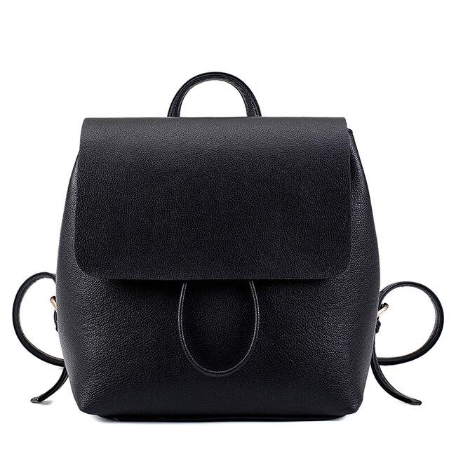 Горячие продажа женщины рюкзаки Высокое качество девушка малый винтаж корея стиль casual путешествия рюкзак женщины кожаная сумка прекрасный рюкзак