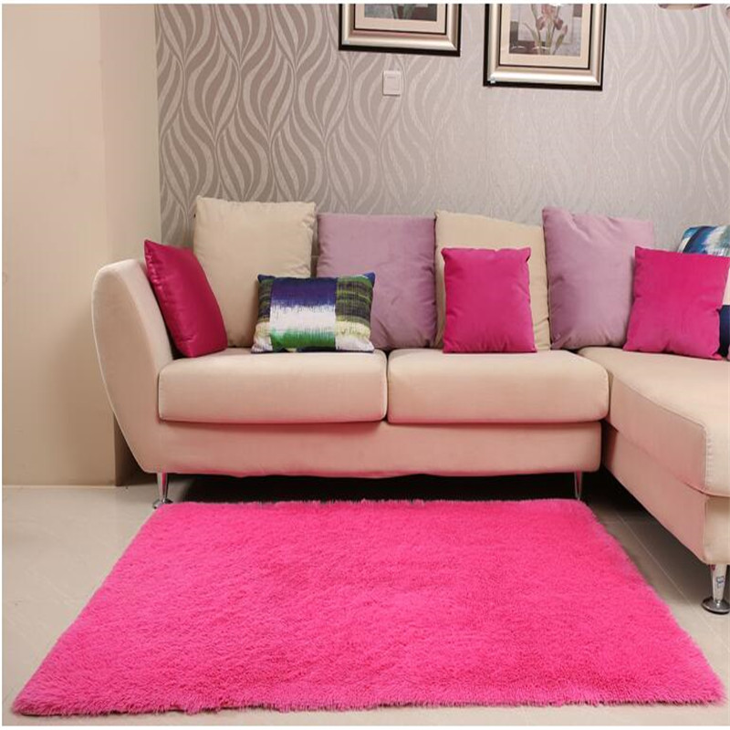 200*300cm Large Solid Shaggy Carpet Soft Plush Rugs and Carpets Area ...