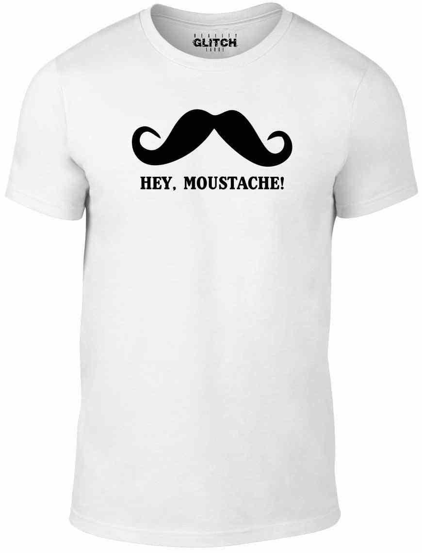 Эй футболка с усами-забавная футболка непрактичная jokers joke q sal jo Ретро mur модная футболка Повседневный Топ