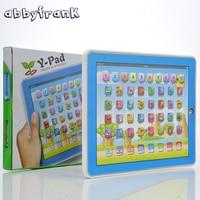Abbyfrank детские испанский машинного обучения Электронные сенсорный планшет игрушки Pad Испанский обучения Образование машина для детей ноутб...