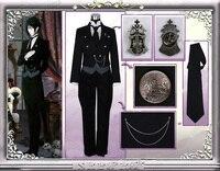 Black Butler Cosplay Sebastian Michaelis Costume Custom Made