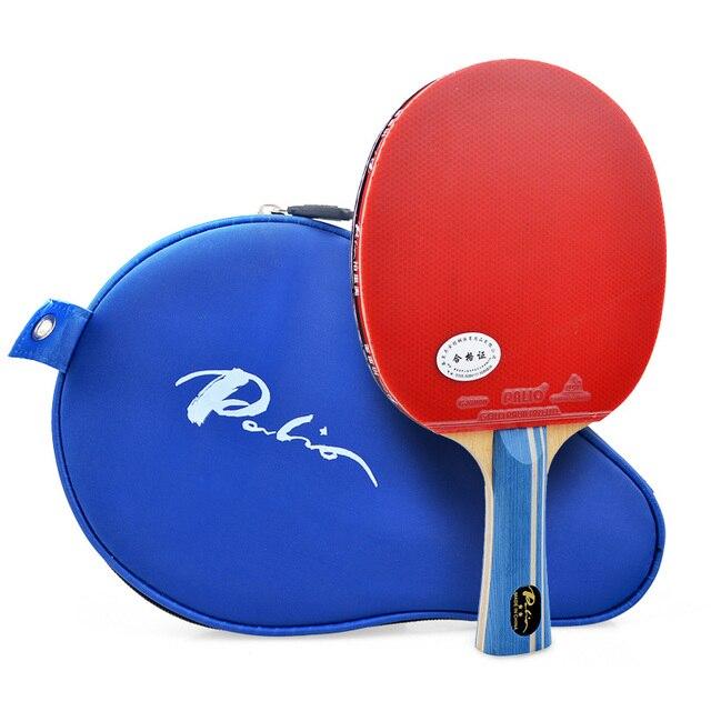 2019 Palio 2 כוכב מומחה טניס שולחן מחבט טניס שולחן גומי פינג פונג גומי Raquete דה פינג פונג