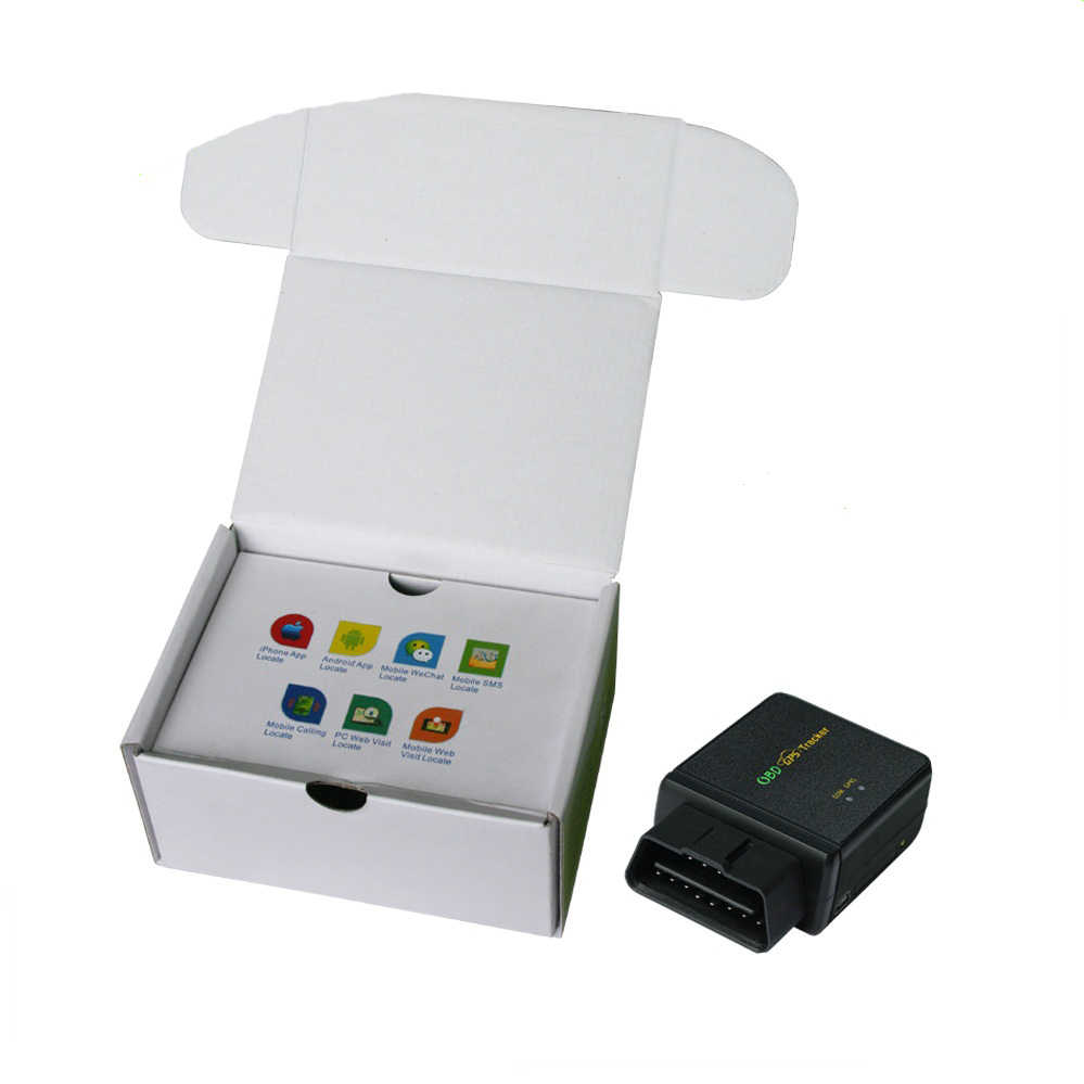 OBD2 GPS Tracker Car GSM/GPRS/LBS Vehicle Tracker CCTR-830C play plug gps  OBD car tracker realtime free website app tracking
