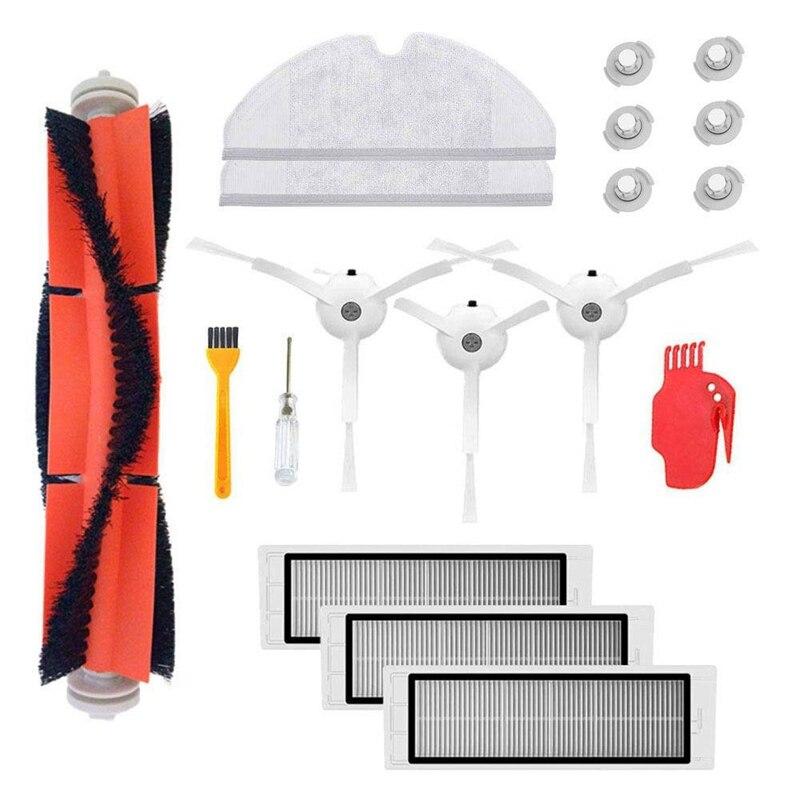 Kit acessórios Para Xiao mi mi Robô Roborock S50 S51 Xiao mi mi jia Robótico Aspirador de pó Peças de Reposição