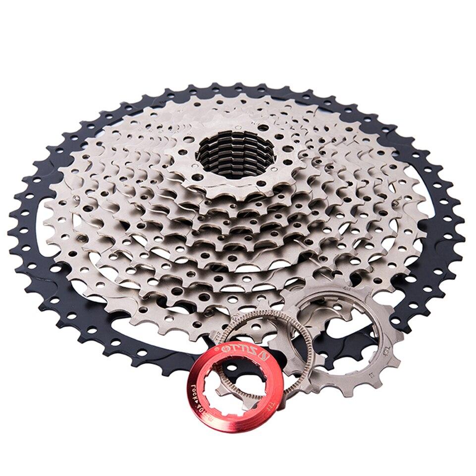 ZTTO vtt 11 vitesses cassette 11 50 t vélo roue libre VTT Cassettes pignon Compatible pour SHIMANO m7000 m8000 m9000