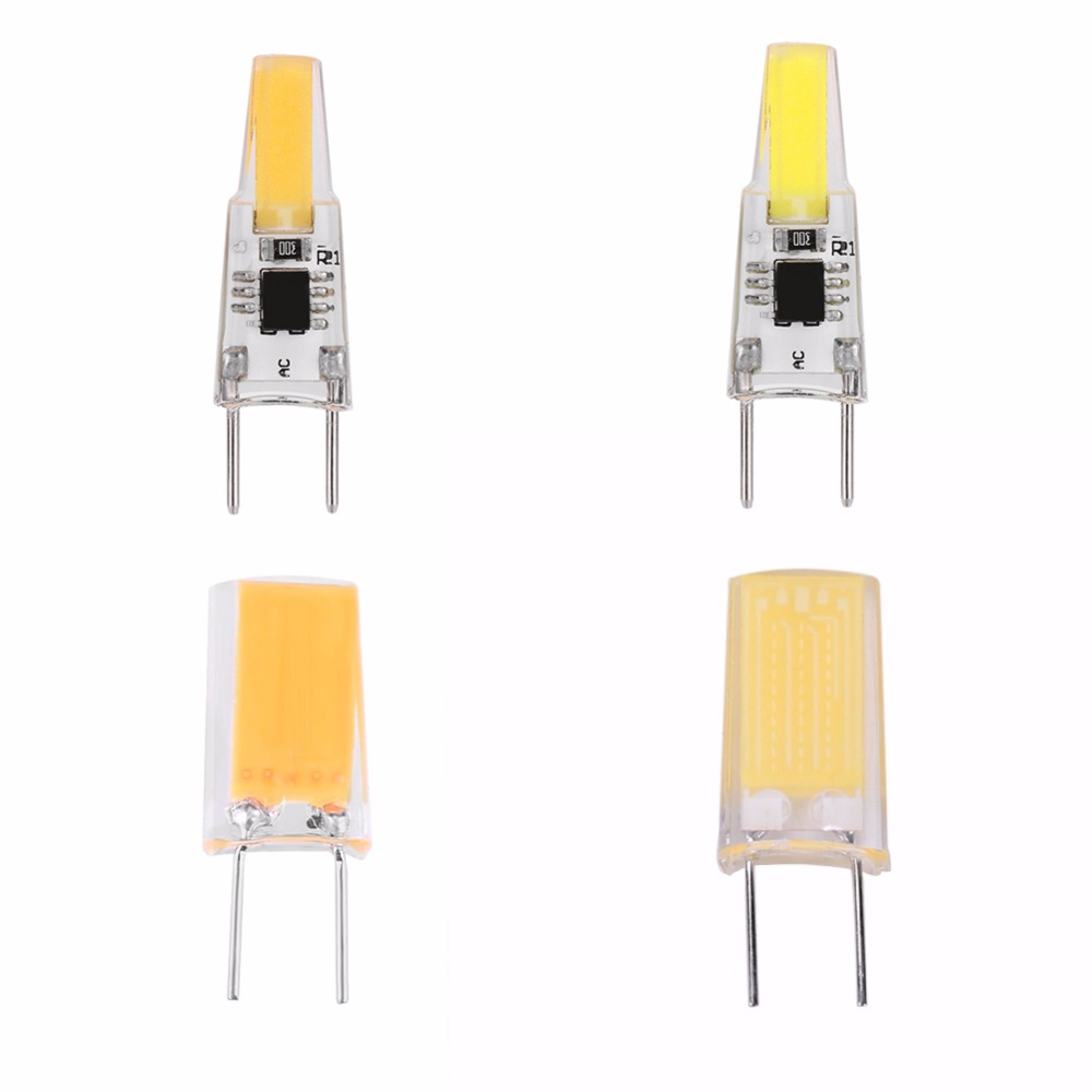 AC 110V-120V Dimmable <font><b>G8</b></font> COB <font><b>LED</b></font> Light Bulb for Crystal Chandelier Lamp Dimmable Warm white/White 3W/5W Durable Bulb image