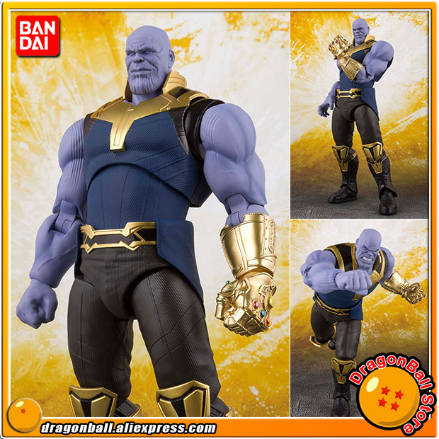 Anime Avengers: Infinity War Original BANDAI Tamashii Nations S.H. Figuarts / SHF Action Figure - Thanos
