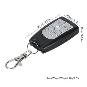 Image 5 - QIACHIP Universal Wireless Remote Control Switch 433Mhz DC 3V 24V RF Receiver 433 Mhz DIY kit & Transmitter for LED Light