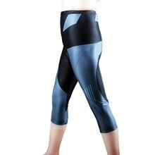 ILPALADINO женские 3/4 штаны в полоску Команда Pro дамы 3/4 горный велосипед Колготки для новорождённых Race Fit спорт велосипедные штаны 3D мягкий