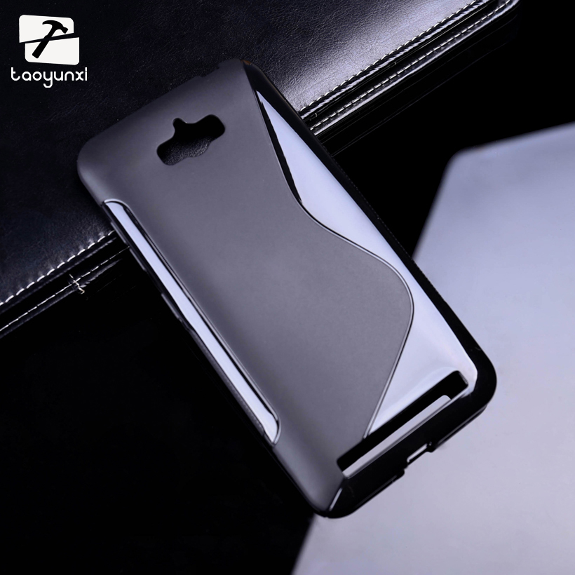 TAOYUNXI Sline Soft TPU Silicon Phone Case For ASUS Zenfone MAX Housing Cover ASUS_Z010DD Z010D ZC550KL Z010DA 5.5 Inch Bag
