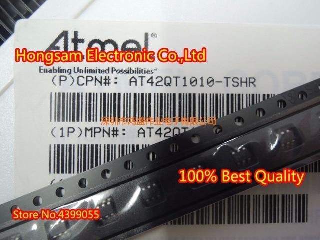 (100PCS) AT42QT1010 TSHR AT42QT1010 SOT23 6 original new