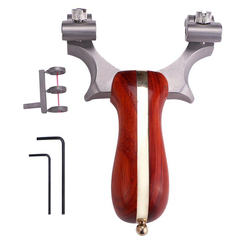 metal portátil bolso estilingue tiro de aço