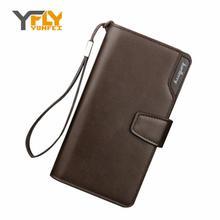 Напульсники y-fly baellerry клатч holder кредитная длинный бумажник случайный кожаный карта
