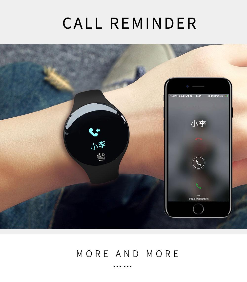 Reloj inteligente podómetro Bluetooth 9