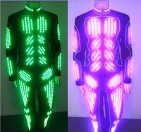 LED taniec Kostium/LED Robot/LED Garnitury/light up taniec garnitur/LED Light garnitur