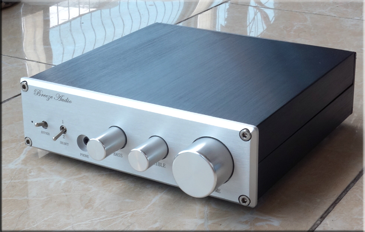 ФОТО Deluxe Edition LME49860 / MUSE8820 F2 Class A pre amplifier Attenuation type high and low tones pre-amplifier
