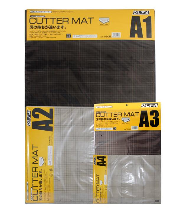 MADE IN JAPAN OLFA A2/A3/A4 SELF HEALING Self-Healing Cutting Mat 160B/A1 159B/A2 135B/A3 134B/A4 A3/206B