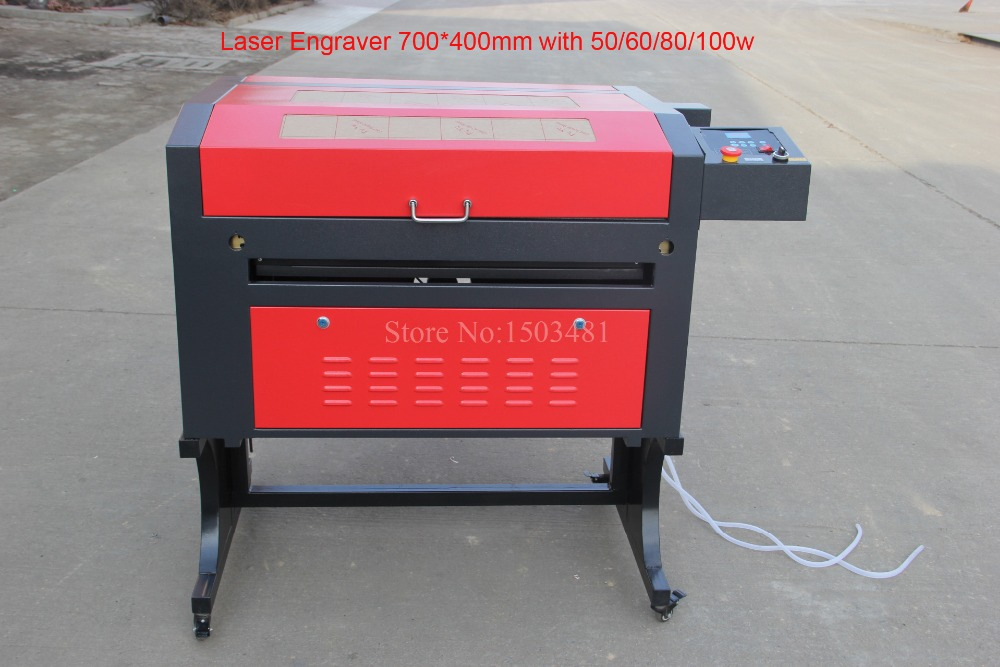 Laser Engraver Cutting 7040 220/110V 80W   With USB Port,  Up And Down Table Laser Red Positioning  Laser Cutting Plywood/Wood