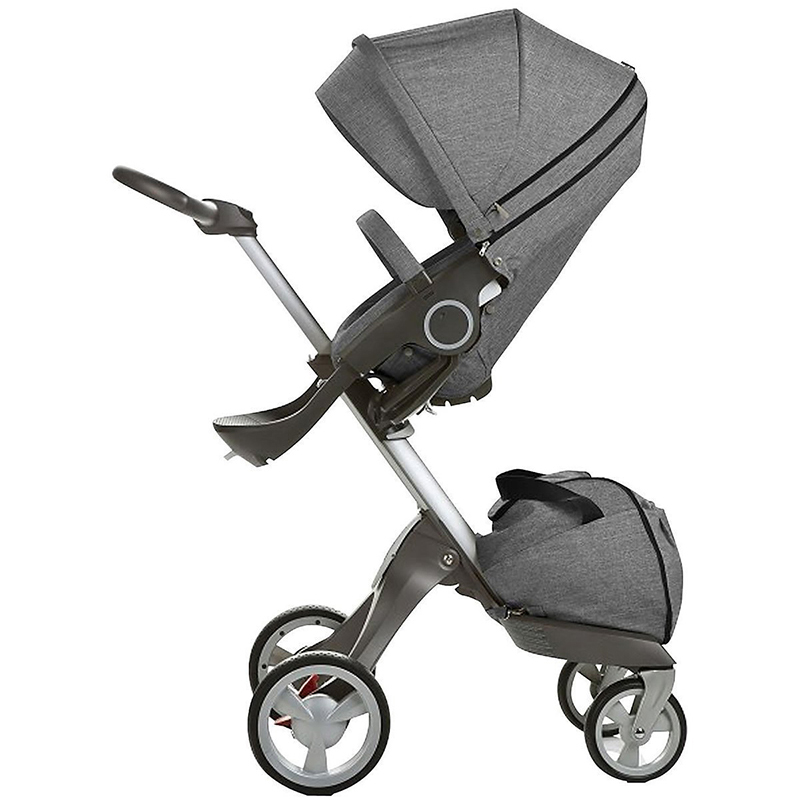 2018 New Baby Stroller For Children European Standard V4 V6 High Landscape Baby Carriages 2 In 1 Baby Pram