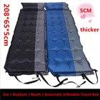 car Self Inflatable Sleeping Mat Mattress With Pillow Self-Inflating Sleeping Pad Foldable Bed Camping Tent Single Mat