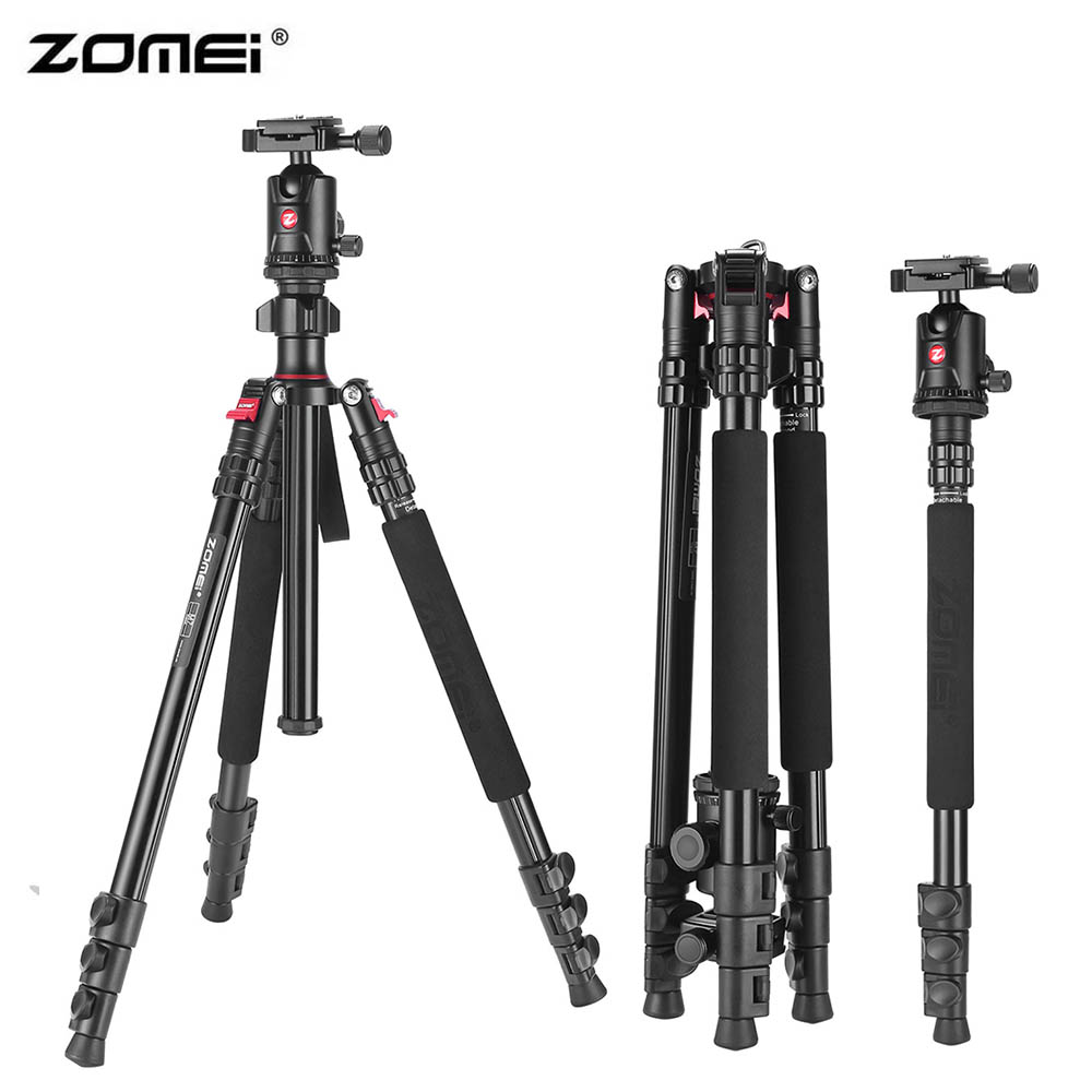 Zomei M7 66-Inch Professional Lightweight Camera Tripod with Ball Head Portable Travel Tripod for Canon Nikon Sony Pentax DSLR motorcycle accessories universal fender eliminator license plate bracket tidy tail for kawasaki z750 r3 z800 r6 mt 07 mt09 mt10