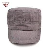 Professionali Personalizzati LOGO Cappelli Militari Per Gli Uomini Le Donne Cotone Army Vintage Cappello di Snapback Caps Regolabile Flat Top Cap Bone Gorro