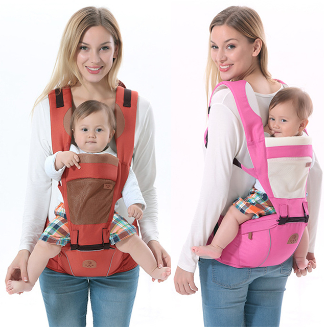 Criança infantil Multifuncional Mochila Bebê Ergonômico & Carriers Bag com Hipseat Envoltório Capa Casaco para Bebês Recém-nascidos Carrinho De Criança